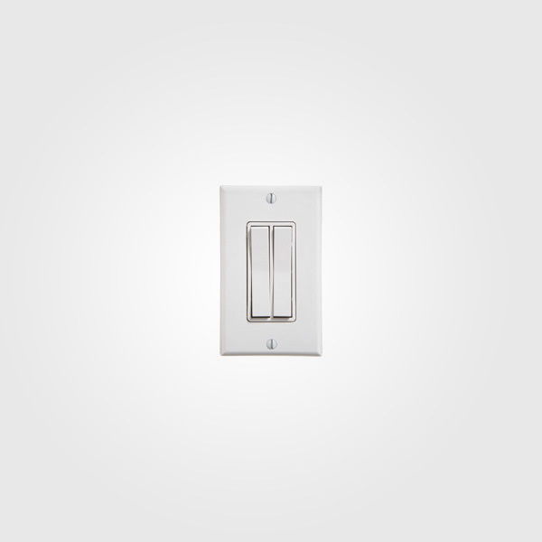 Interruptor inalambrico doble o dual