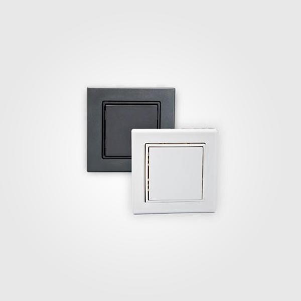 Interruptores Inalámbricos cuadrados