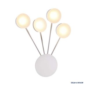 LAMPARAS LED DECORATIVAS DE PARED 4x5W