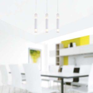 LAMPARAS LED DECORATIVAS COLGANTE 3x10W